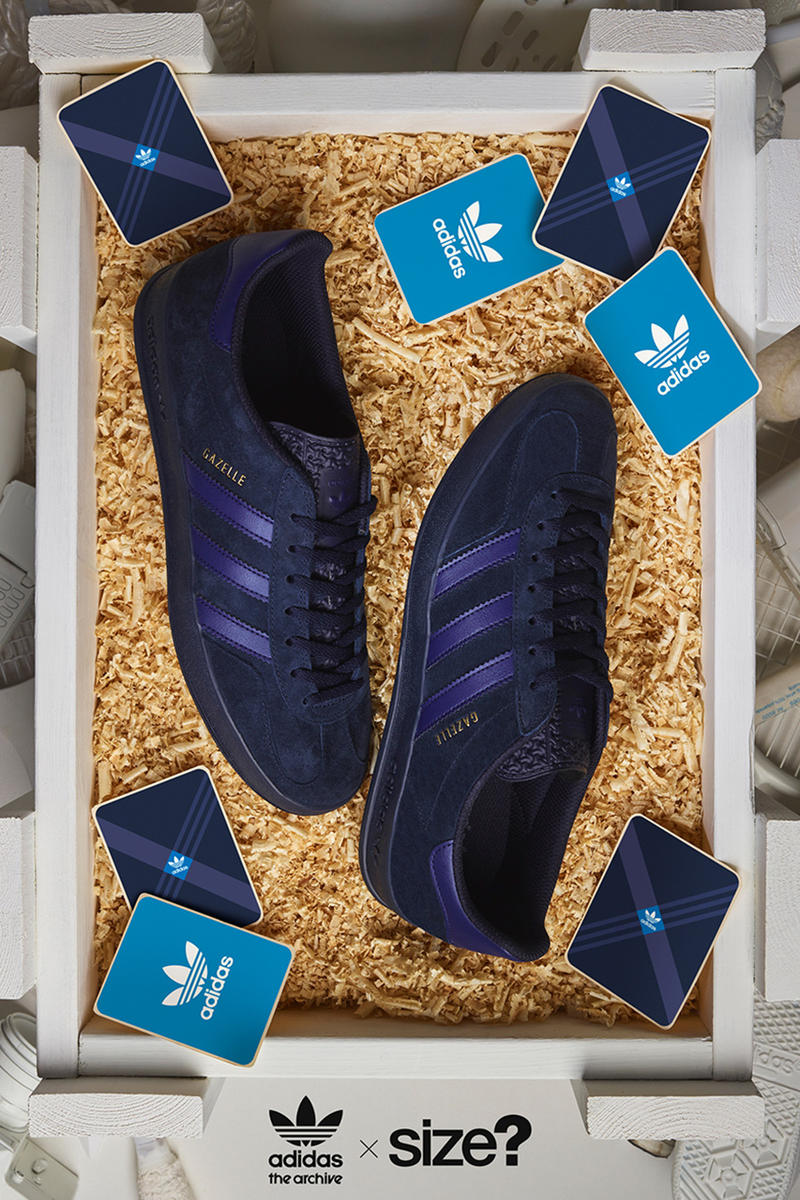 buy online 1ebf1 3b0cd adidas Originals Archive Gazelle Indoor Size Exclusive Shoes Sneakers  Kicks Trainers Footwear