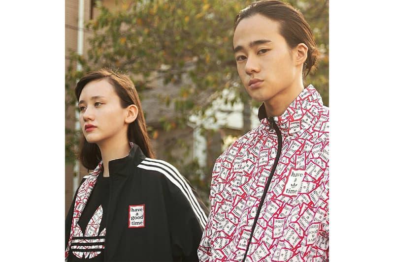 adidas Originals x Have a Good Time Fall/Winter 2018 Lookbook Samba Tracksuit