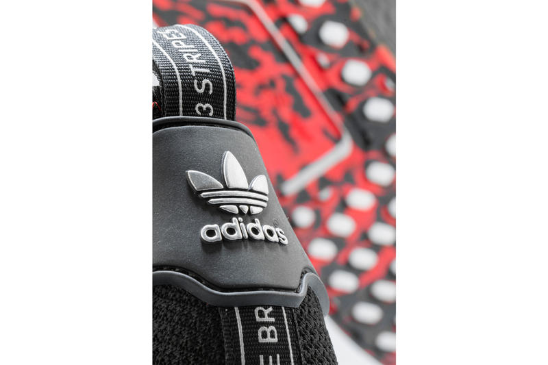 adidas Shoe Palace NMD R1 25th Anniversary black red sneaker