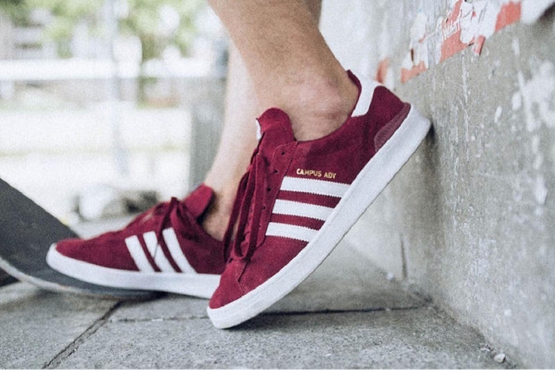 promo code ffc34 ac1c4 adidas Campus ADV Collegiate Burgundy skateboarding blondey mccoy buy  release date price pricing october 6 2018