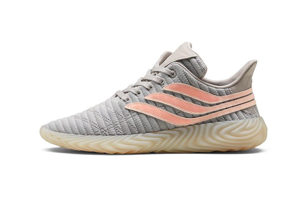 adidas Sobakov Grey/Pink | HYPEBEAST DROPS
