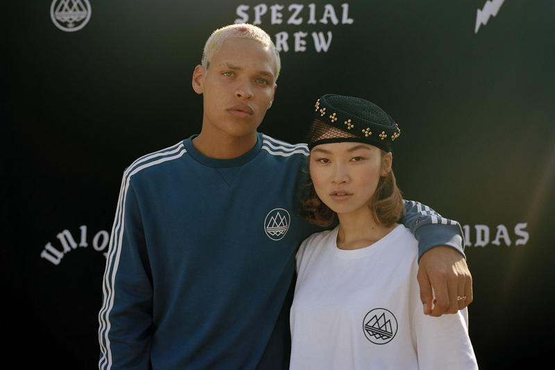 Union Los Angeles x adidas SPEZIAL Fall/Winter 2018 Lookbook Collection Cop Purchase Buy In-Store Online Friday 19 October Clothing 1980s Hip Hop Heated Words Project