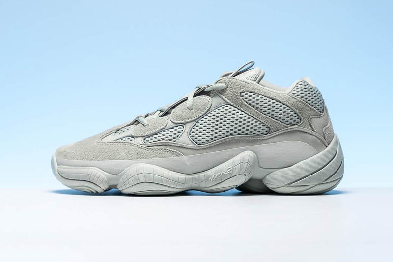 finest selection 0f398 c2327 adidas YEEZY 500 Salt Closer Look Light Grey Blue Colorway For Sale Retail  Information Release Date