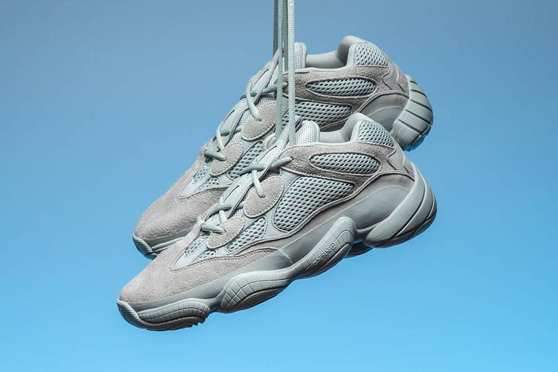 "brand new a6ebf aef56 adidas YEEZY 500 ""Salt"" Closer Look 
