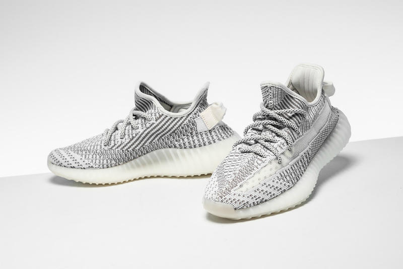 Closer Look adidas YEEZY BOOST 350 V2 Static pictures october 2018 release date buy price details retailers grey gray white kanye west sneakers