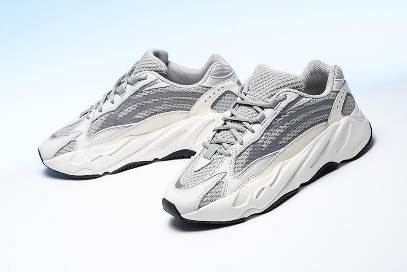 adidas yeezy boost 700 v2 static white grey gray 2018 2018 december january details buy where release date price sneaker new kanye west sneakers shoes
