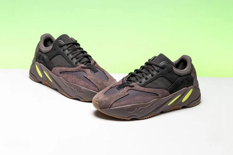 4c384b2c2c1a6 adidas YEEZY BOOST 700 Wave Runner Mauve First Look Kanye West Brown Black  Neon