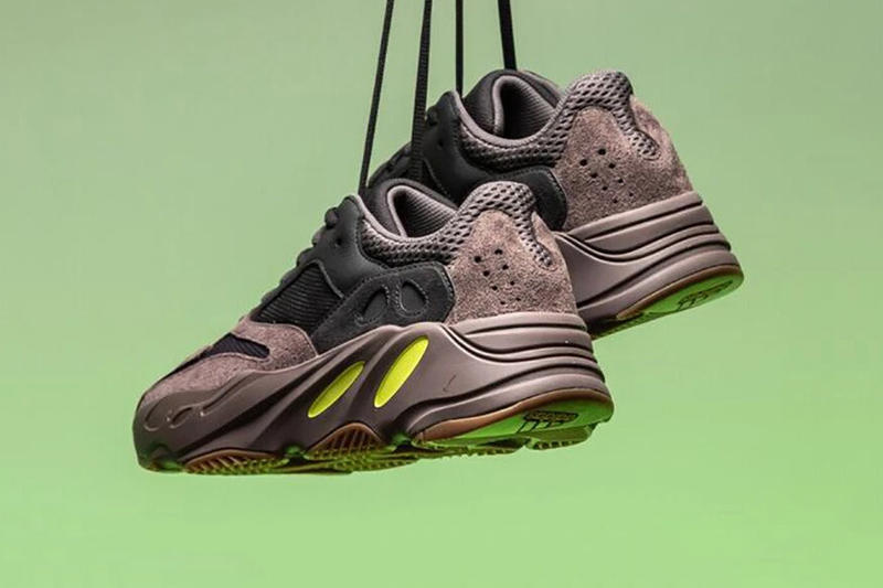 adidas YEEZY BOOST 700 Wave Runner Mauve First Look Kanye West Brown Black Neon