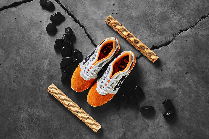 "Afew x BEAMS x Asics Tiger Gel Lyte III ""Orange Koi"" Collection Sneakers Shoes Trainers Kicks First Closer Look Cop Purchase Buy"