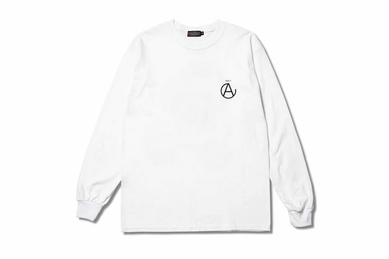 AFFA CAREERING UNDERCOVER Capsule Release Anarchy Forever Forever Anarchy Black White T shirt long sleeve Jun Takahashi Hiroshi Fujiwara Under C