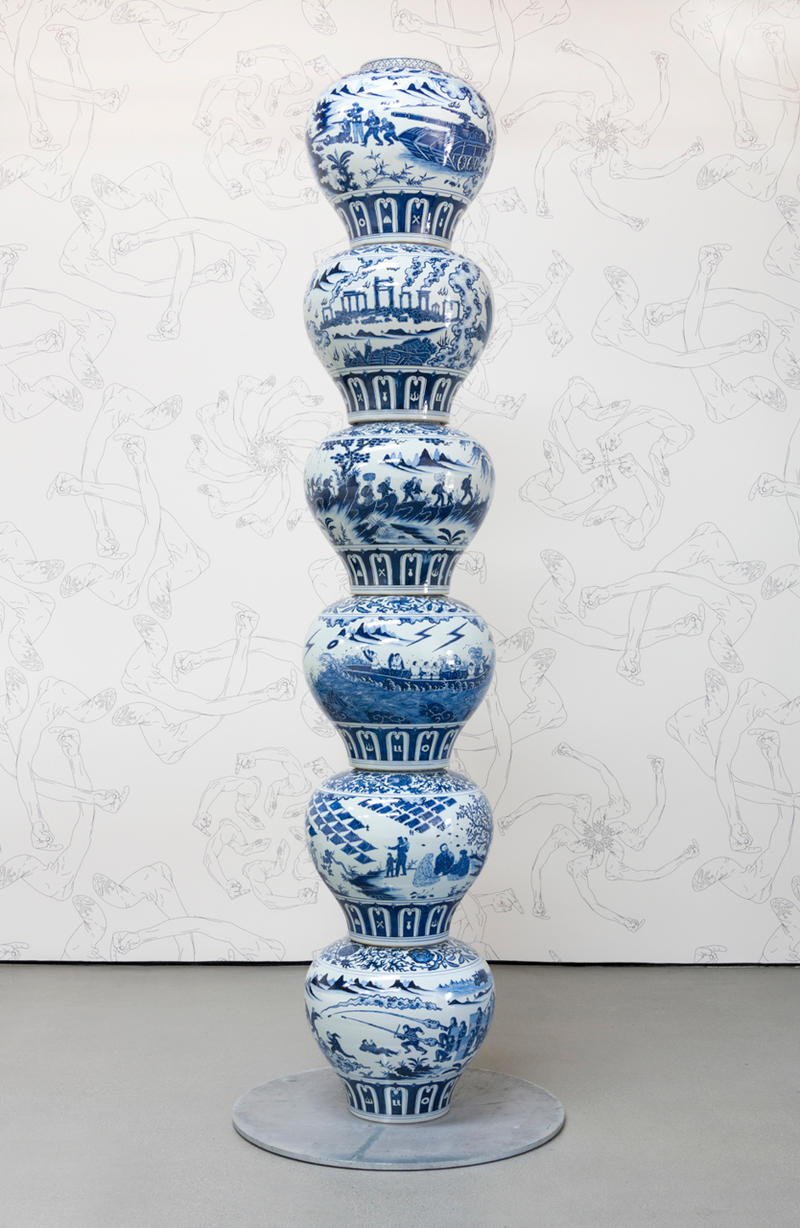 """Ai Weiwei """"Cao / Humanity"""" Exhibit at UTA Artist Space los angeles china"""