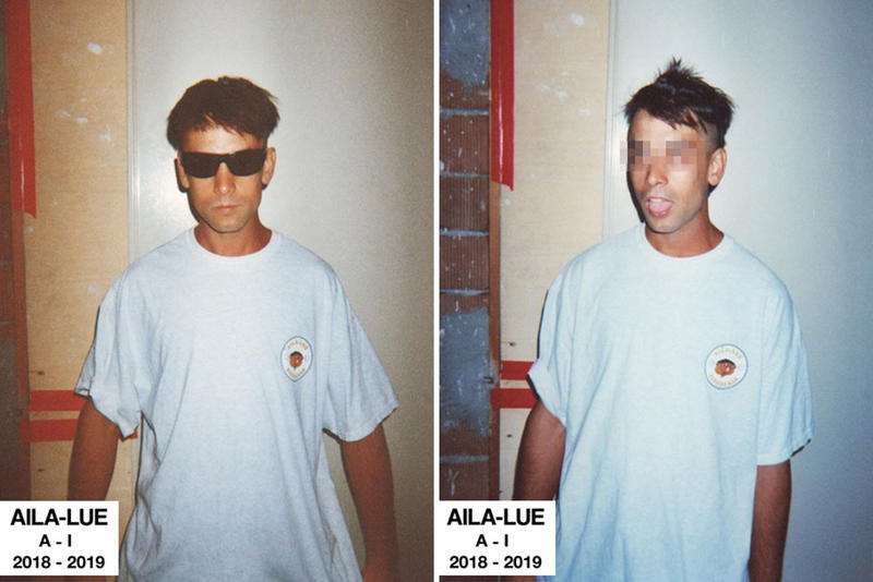 AILA-LUE Fall/Winter 2018 Collection streetwear website order price lookbook t-shirt graphic