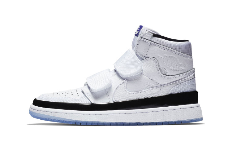 "ace928cb073205 Jordan Brand s Air Jordan 1 High Double Strap Gets Remixed in ""Concord"""