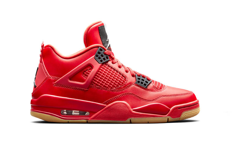 7d89fedd0ed2 air jordan 4 nrg fire red brand 2018 holiday collection AV3914-600 gum  outsole black
