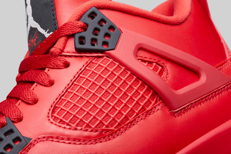 1267041271a9 air jordan 4 nrg fire red brand 2018 holiday collection AV3914-600 gum  outsole black