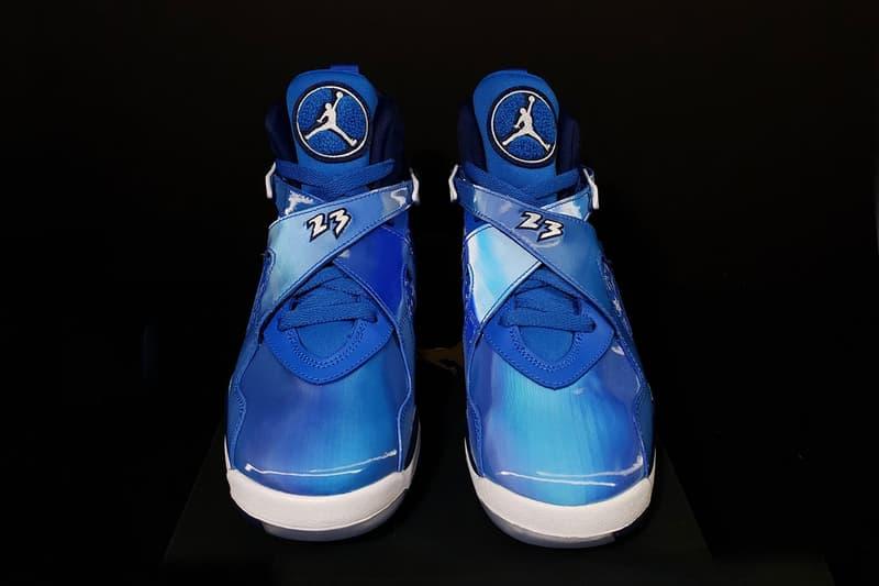 hot sales cdff7 4edc5 Air Jordan 8 Snowflake nike First Look blue white 2018 sneaker shoes cobalt  blaze void info