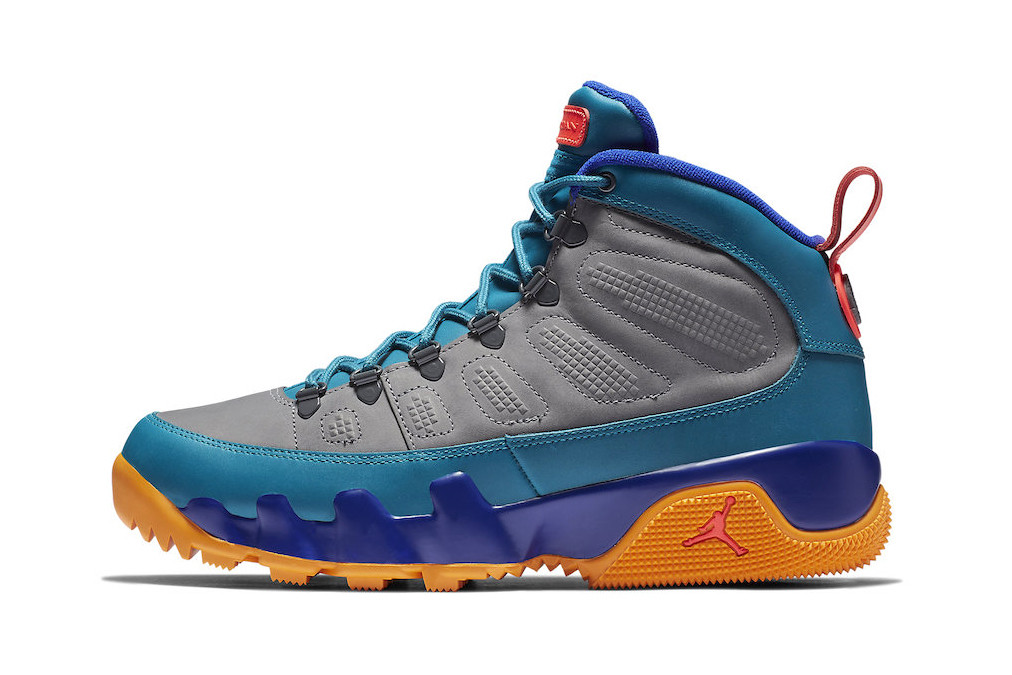 sale retailer 0c198 b6579 Air Jordan 9 Boot NRG Grey/Blue/Orange | HYPEBEAST
