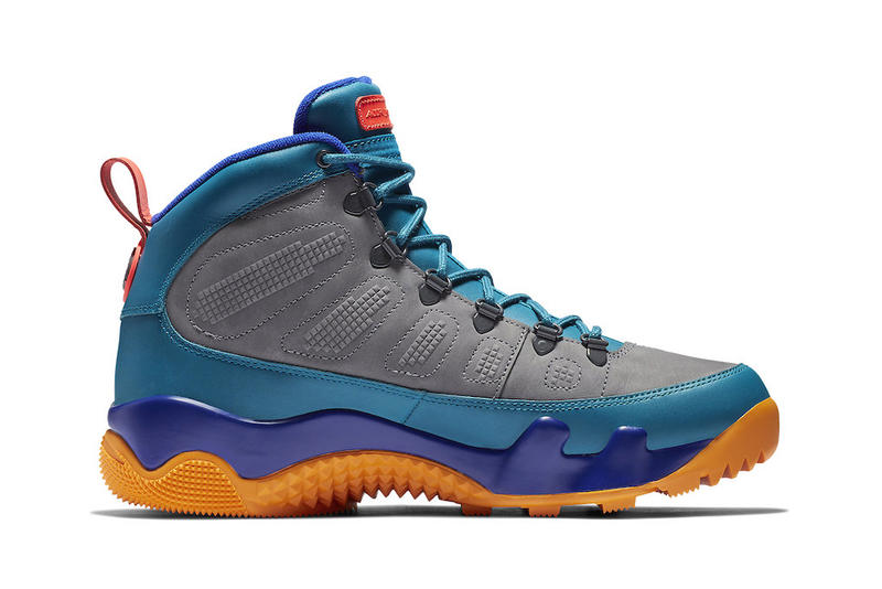 Air Jordan 9 Boot NRG Release Date olive blue purple orange yellow october 2018 price nike sportswear jordan brand