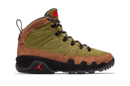 "Air Jordan 9 Boot NRG Serves Up a ""Beef & Broccoli"" Colorway"