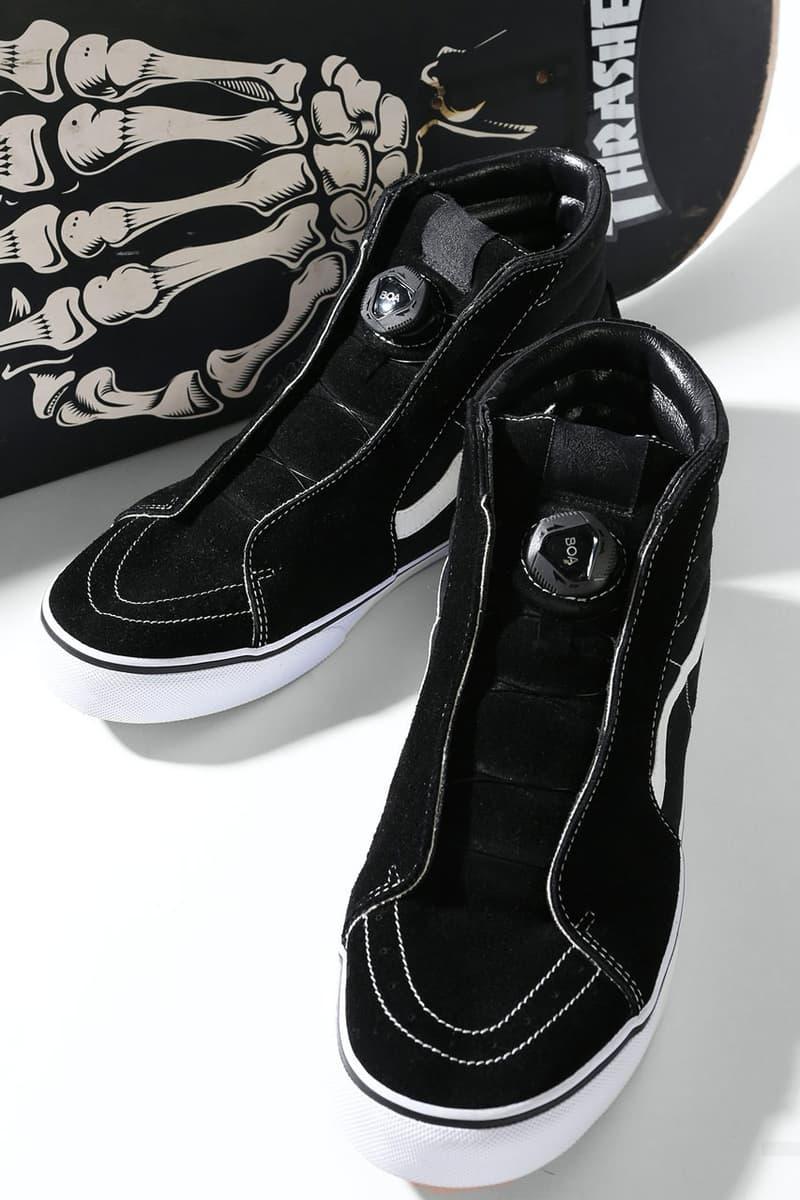 Alexander Lee Chang Vans BOA System lacing Black colorway drop release date info november 2018 freaks store sneaker skate