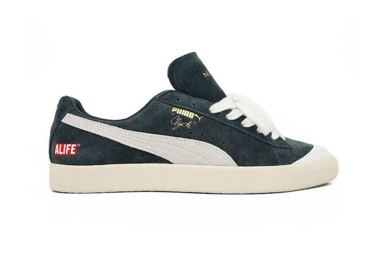 323076aabdef Alife x PUMA Clyde New York Pack Release Date collaboration sneaker  colorways navy forrest green price