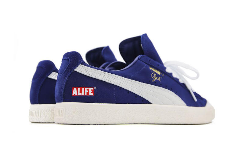Alife x PUMA Clyde New York Pack Release Date collaboration sneaker colorways navy forrest green price info online in store