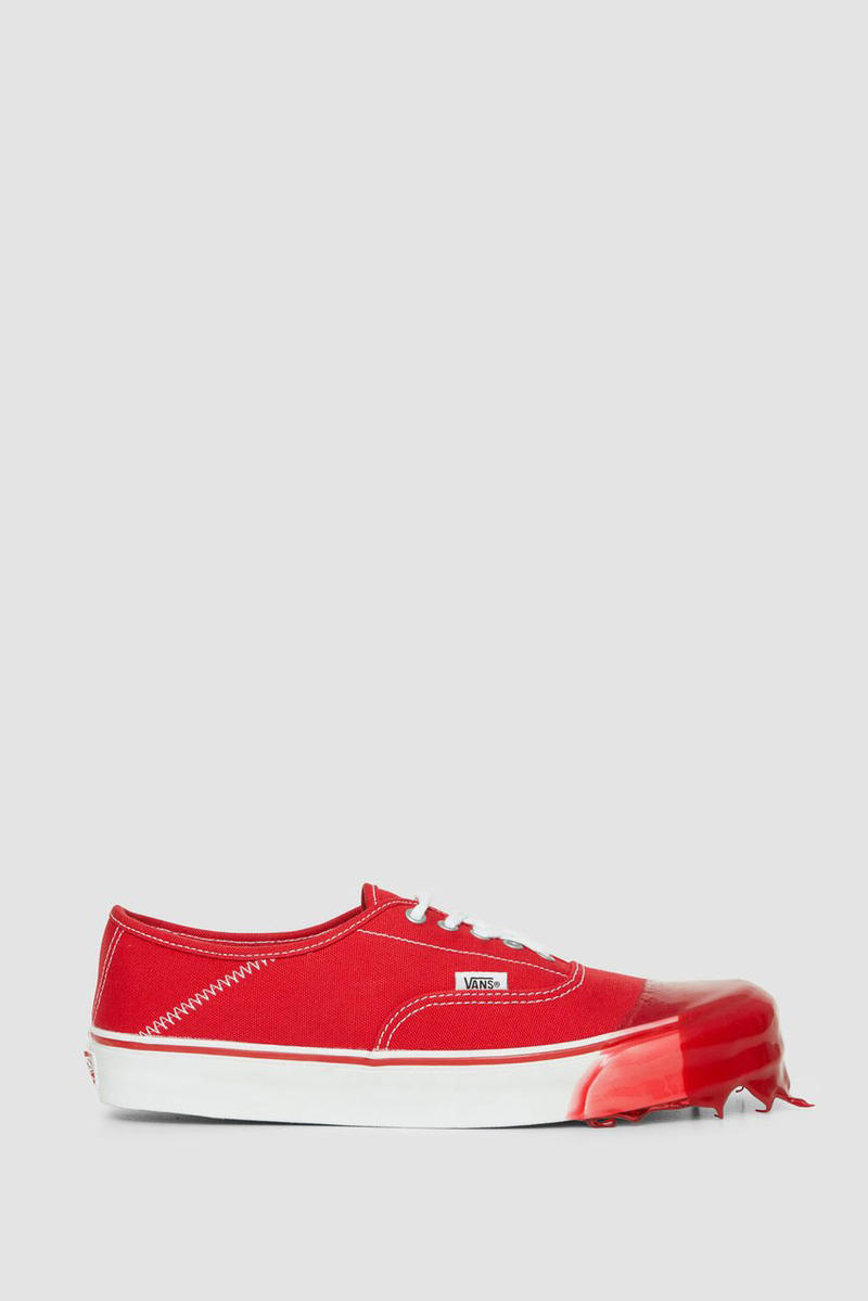 4e3376bc05b ALYX x Vans Collab Rubber Dipped sneakers shoes black white red silver  green buy fall winter