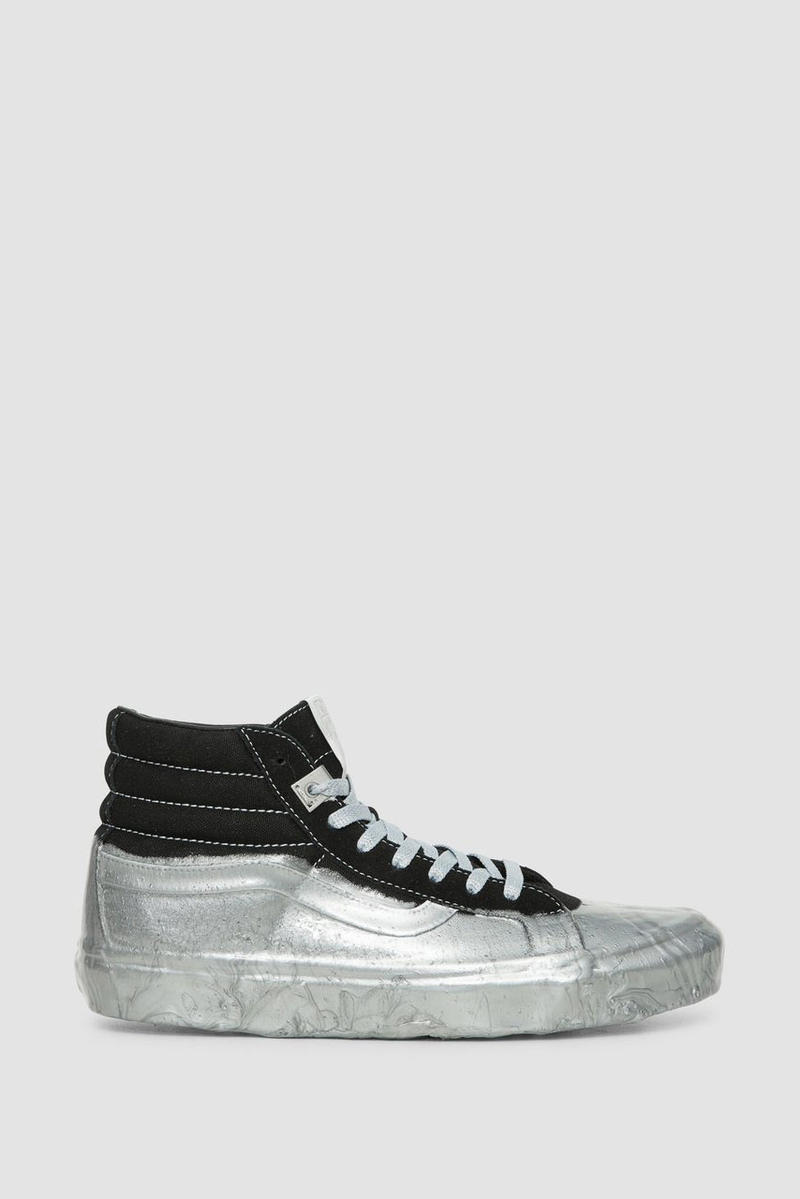 ALYX x Vans Collab Rubber Dipped sneakers shoes black white red silver green buy fall winter 2018 price details info fw18 collab collaboration authentic sk8 hi