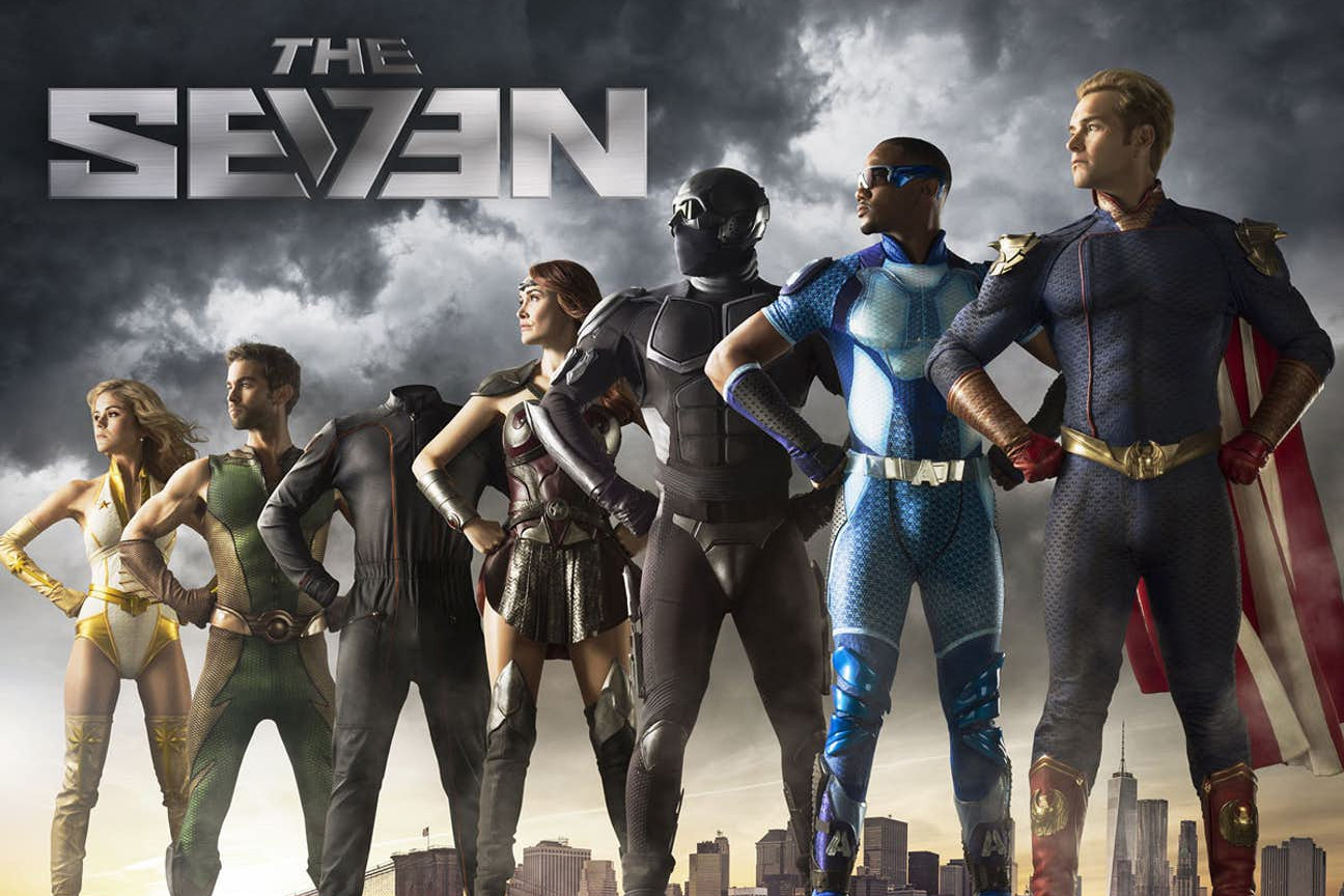 seth rogen evan goldberg superhero series the boys