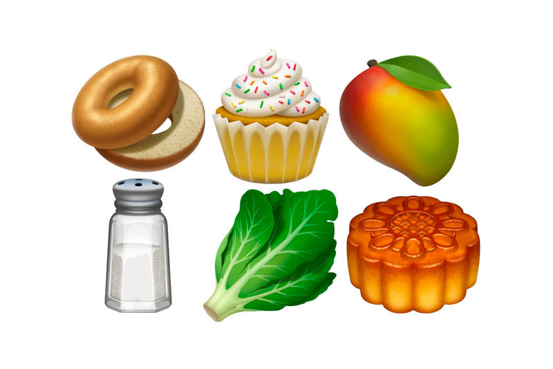 Apple iOS 12.1 Update new Emojis cupcake bagel lacrosse stick compass faces skateboard swan