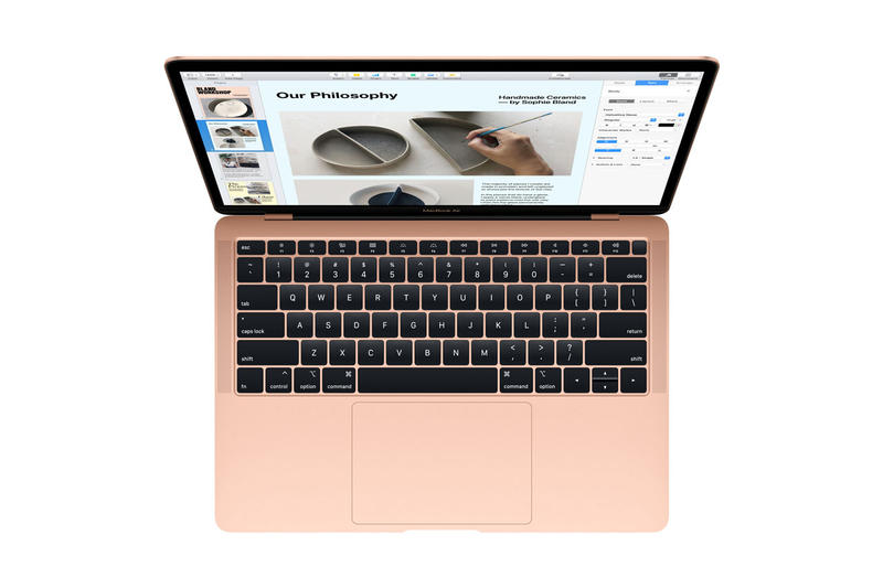 Apple MacBook Air Retina Display 13.3 inch touch id gold orange silver space grey laptop october 30 november 7 brooklyn ny laptop computer 100 percect recycled aluminum