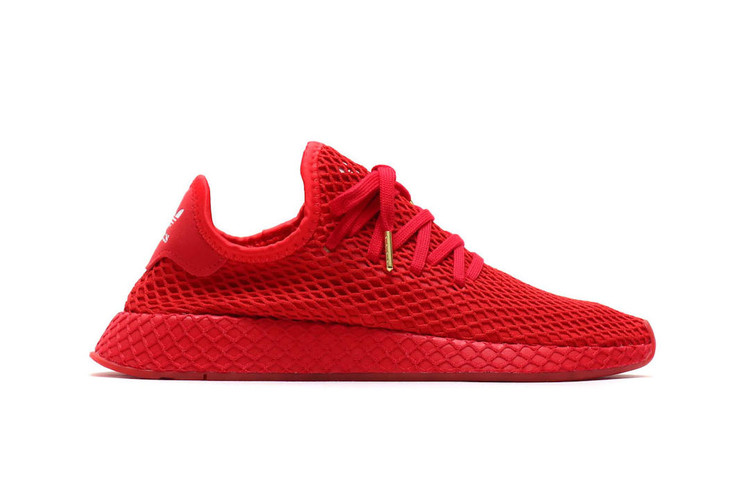timeless design 9121b 2e219 atmos  adidas Give the Deerupt an All-Red Makeover