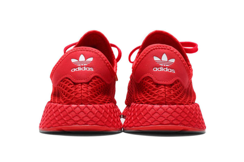 atmos x adidas Deerupt All-Red Release Date sneaker metallic gold atmos japan november