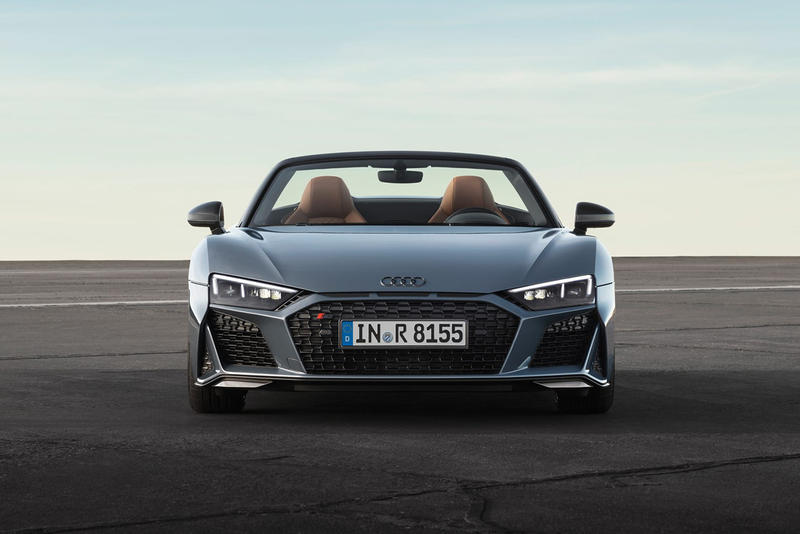 Audi R8 2019 Model Upgrade For Sale Luxury Cars CFRP front stabilizer Front End Europe Information