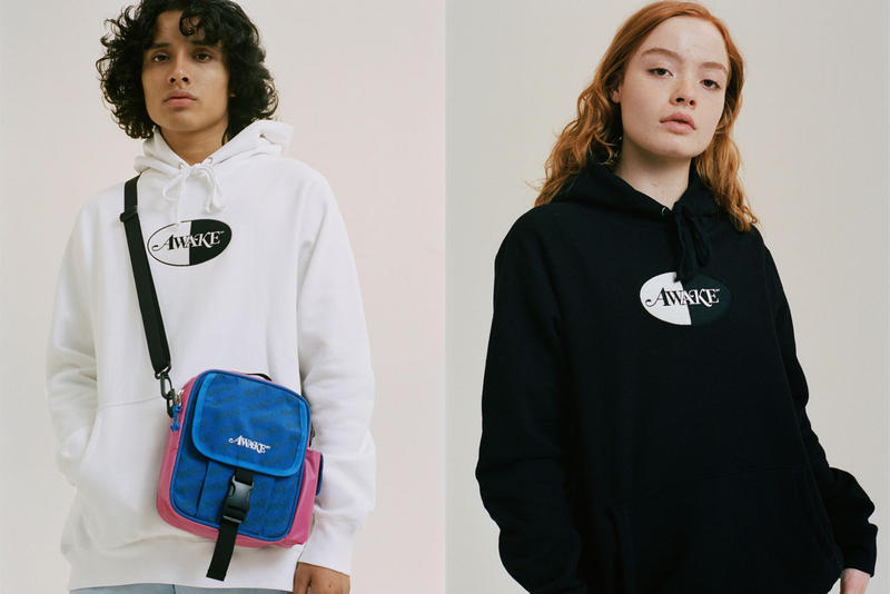 Awake NY Fall 2018 Collection Lookbook Release date info drop buy winter web store october 31 2018 procell november 6 collaboration accessories bags