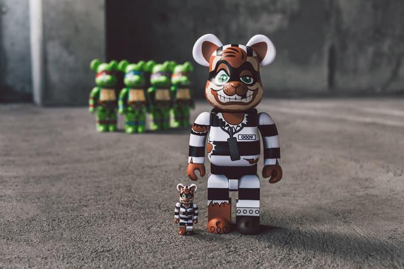 Bait Medicom Toy Teenage Mutant Ninja Turtles Bearbricks Be@rbrick TMNT Scratch