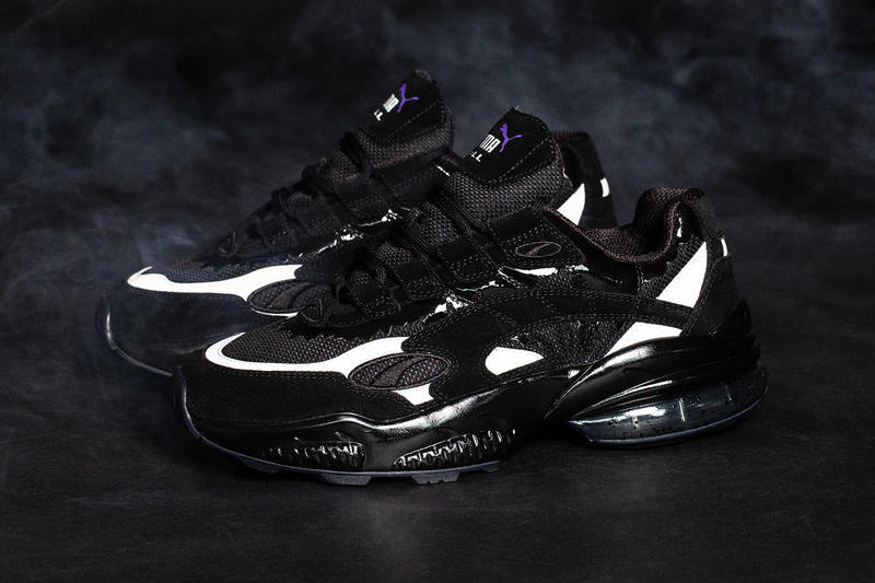 ed9523ecd95 BAIT Marvel PUMA Cell Venom black white movie film release info alpha  industries ma-1