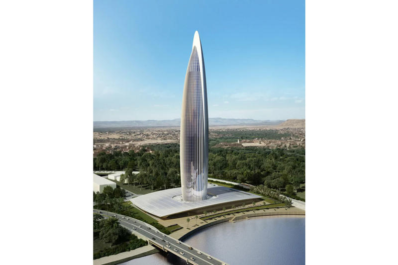 Bank of Africa Tallest Skyscraper Morocco Africa Building BESIX