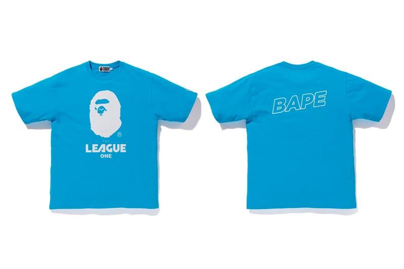 bape ea sports collection blue shirt