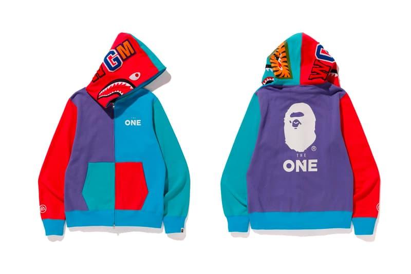 bape ea sports collection shark hoodie