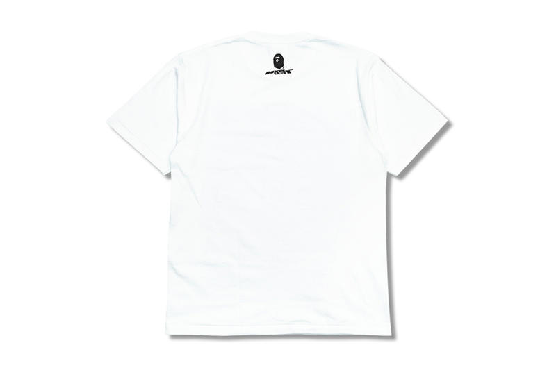 BAPE hypefest ape head camouflage branded t shirt white print logo exclusive october 6 7 2018 release date info