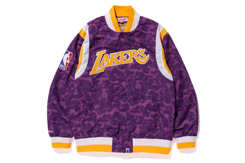 BAPE NBA Basketball Collection Mitchell & Ness and Spalding Snoop Dogg