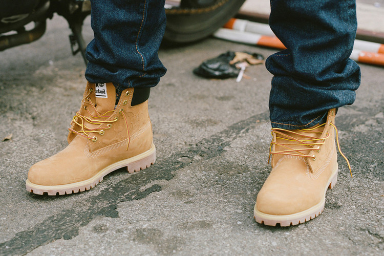 UNDEFEATED s BAPE   Timberland Collab Gets Highlighted in New Editorial 79459fe09fbb