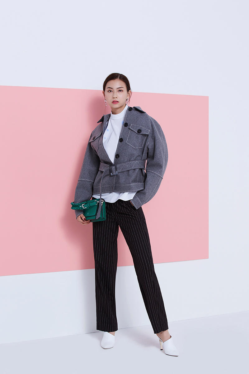 BAPY Fall/Winter 2018 Lookbook Featuring Lauren Tsai BAPE Women Sweaters Coats Skirts Pants