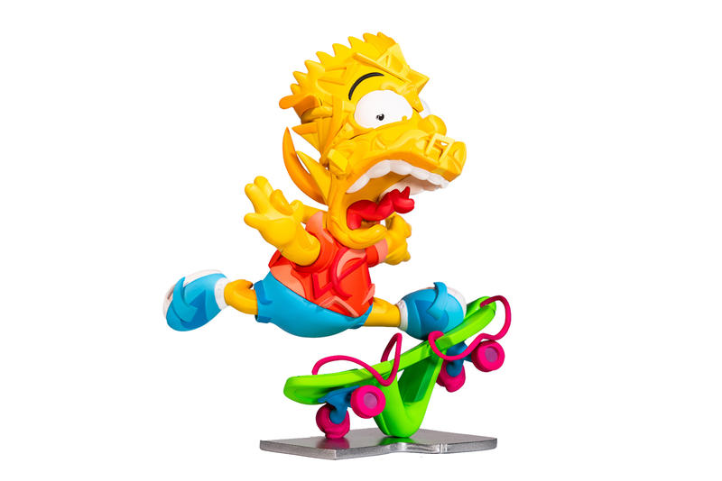 louis de guzman bart simpson elevate vinyl sculpture artworks art artists collectibles