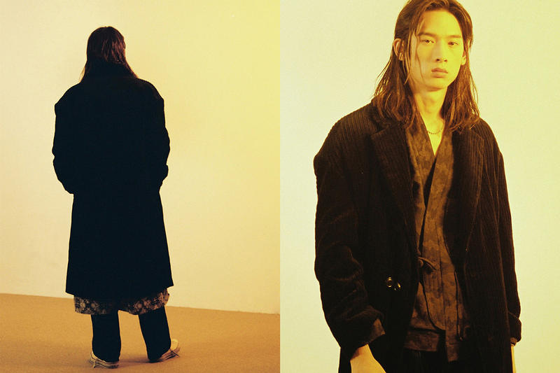 Beslow purple label fall winter 2018 lookbook collection korea brand label drop release date info