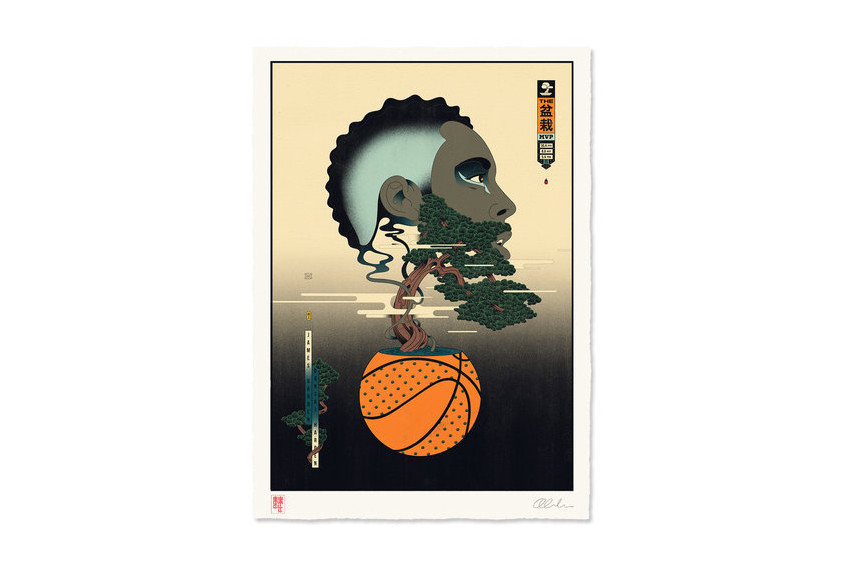 best art drops andrew archer edo ball basketball illustrations nba greg mike retna og slick artworks art artists