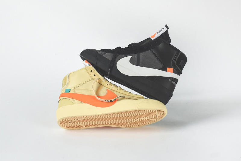 save off b9ecf 3bb34 Jun Takahashi   Virgil Abloh s Nike Collabs Face Off In This Week s  Footwear Drops