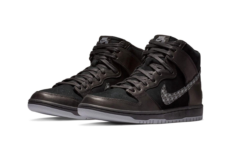 Black Bar x Nike SB Dunk High Release