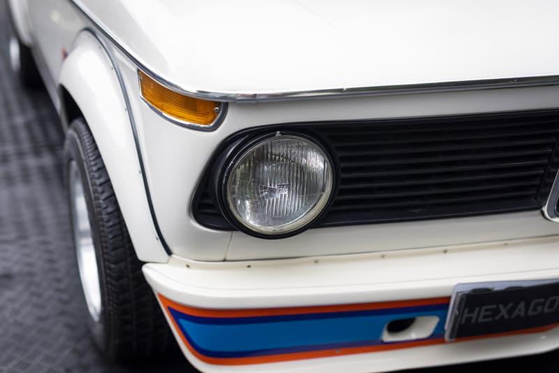 BMW 2002 Turbo Original 1975 Model Auction chamonix white hexagon classics car coupe automotive big sale price